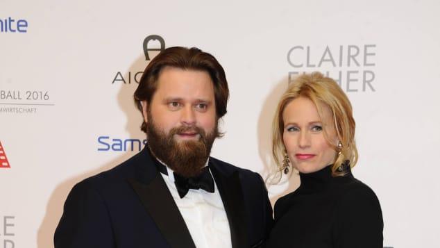 Antoine Monot Jr. und Stefanie Sick leben zusammen in München