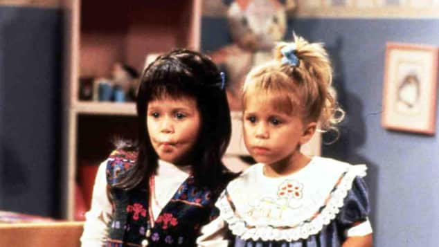 "Ashley und Mary-Kate Olsen in ""Full House"""