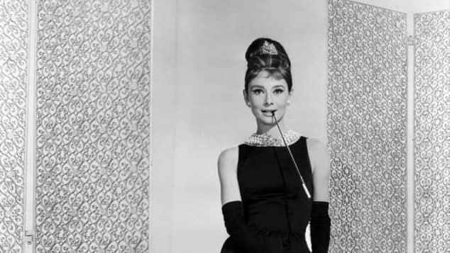 "Audrey Hepburn Kleid ""Frühstück bei Tiffany"""