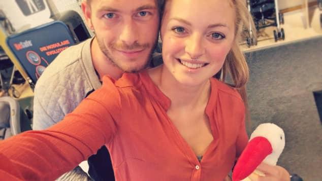 Daniel und Miriam freuen sich auf das Baby