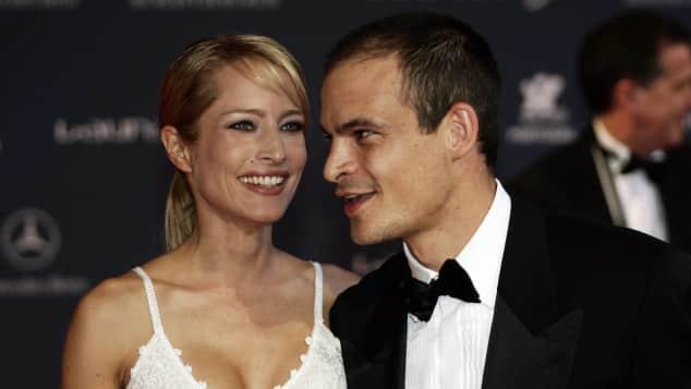 Ben Tewaag und Florentine Lahme im Jahr 2005