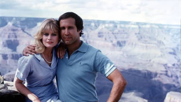 Beverly D'Angelo and Chevy Chase in Vacation