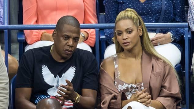 Beyoncé Knowles und Jay-Z bei den US-Open