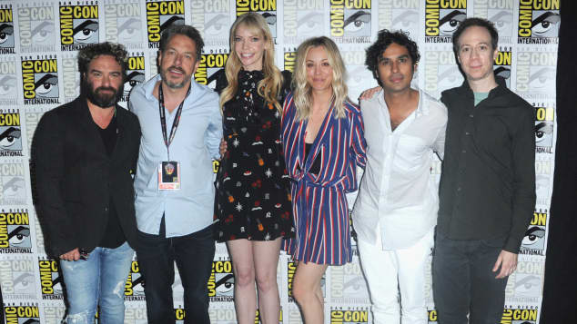 The Big Bang Theory Darsteller Comic Con
