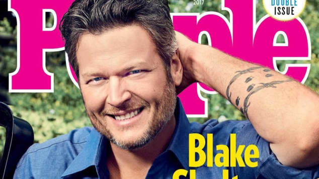 Blake Shelton Sexiest Man Alive People