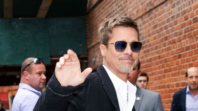 Brad Pitt in Manhatten unterwegs