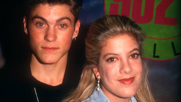 """Brian Austin Green und Tori Spelling spielten zusammen in """"Beverly Hills, 90210"""""""