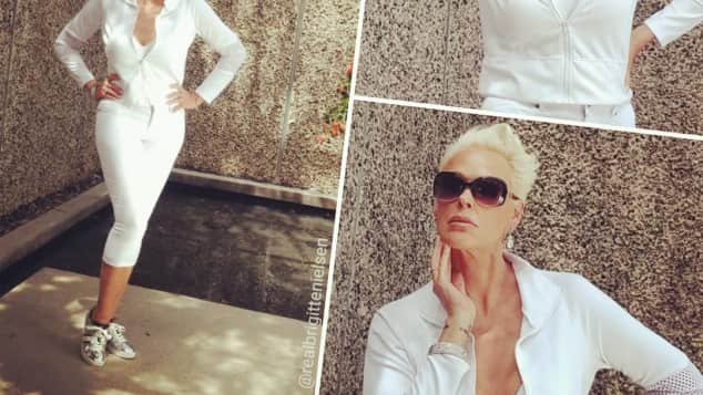 Brigitte Nielsen After-Baby-Body