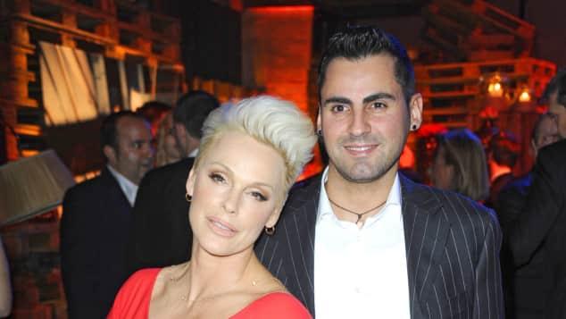 Brigitte Nielsen und Mattia Dessi sind glücklicher denn je