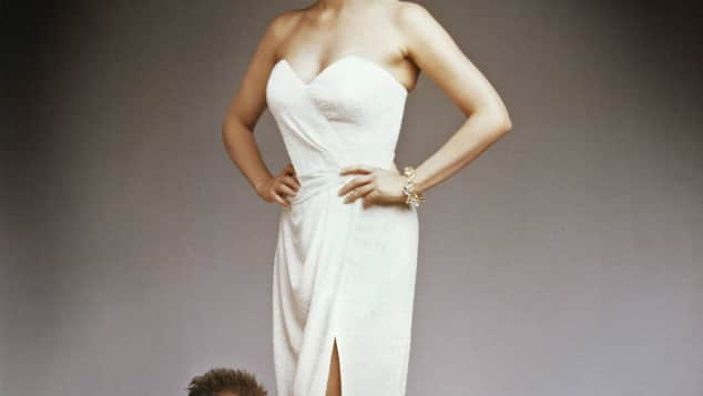 """Bruce Willis und Cybil Sheperd in """"Das Model und der Schnüffler"""" 2010"""