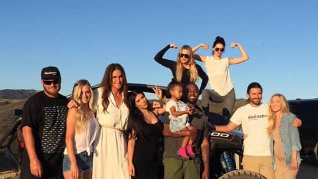 Caitlyn Jenner und der Kardashian-Jenner-Clan