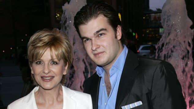 Carmen Nebel und ihr Sohn Gregor