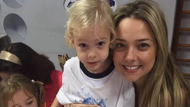 Neymar: Das ist die Mutter seines Sohnes Davi.