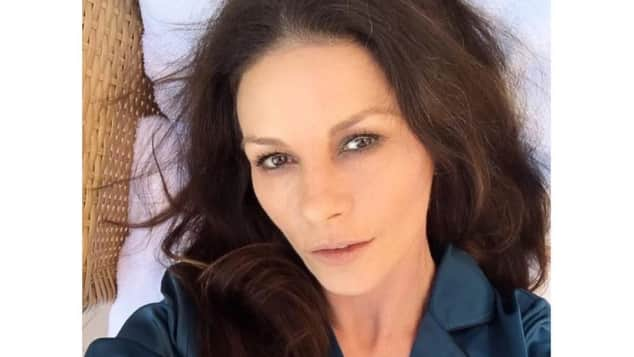 Catherine Zeta-Jones ohne Make-up