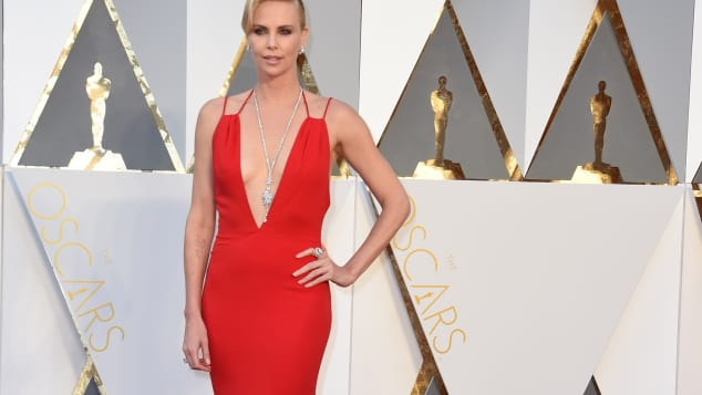 Charlize Theron bei den Oscars 2016
