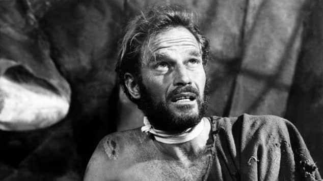 """Charlton Heston in """"Planet der Affen"""""""