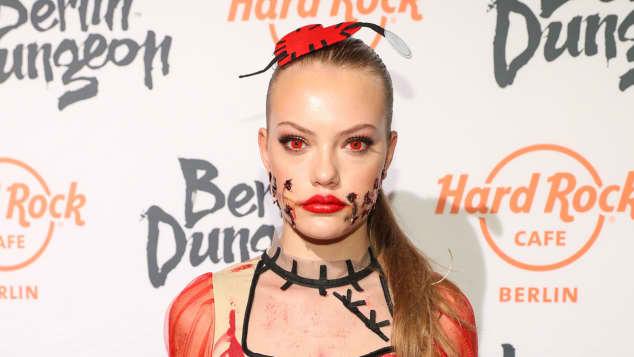 Cheyenne Ochsenknecht Halloween Kostüm