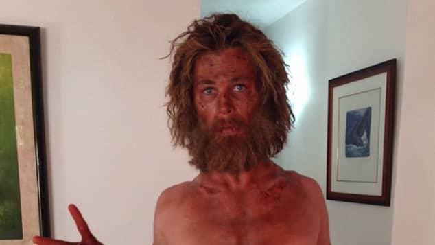 """Chris Hemsworth alias """"Owen Chase"""" in """"Im Herzen der See"""""""