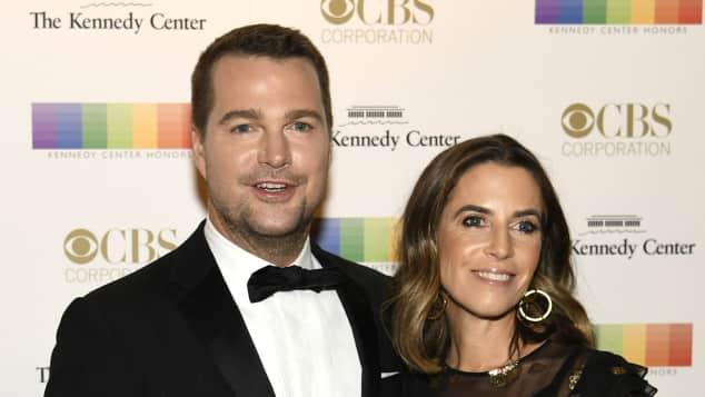 Chris O'Donnell und Caroline Fentress sind seit 20 Jahren verheiratet Schauspieler Ehefrau Navy CIS: Los Angeles