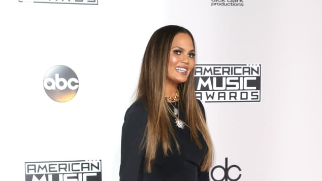Chrissy Teigen bei den American Music Awards