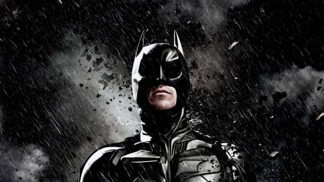 "Christian Bale alias ""Batman"" in ""The Dark Knight Rises"""