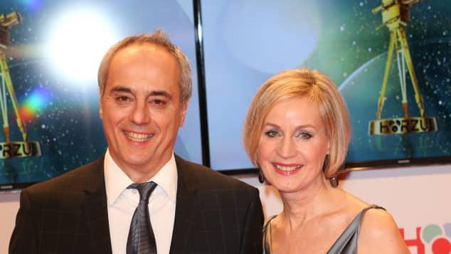 Starkoch Christian Rach und seine Ehefrau Andrea Rach im Jahr 2015