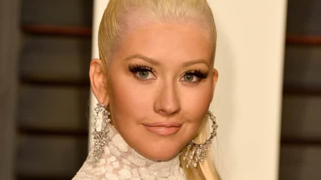 Christina Aguilera nach ihrer Brust-OP