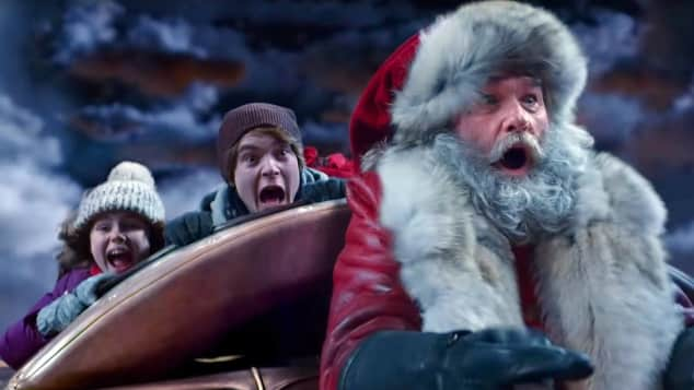 The Christmas Chronicles Sleigh Ride