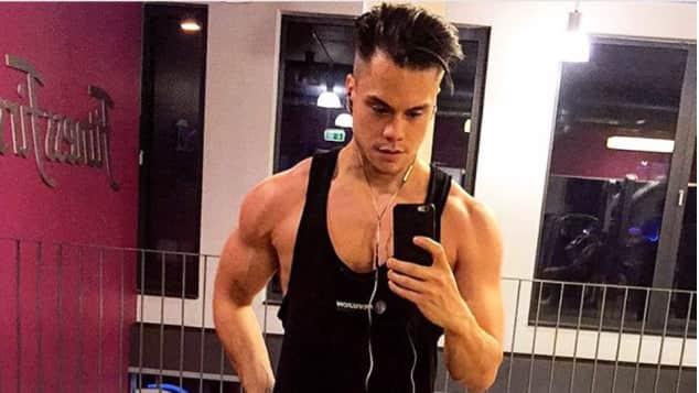 Christopher Schnell DSDS Kandidat Muskeln Training Instagram