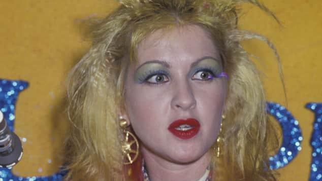 Sängerin Cindy Lauper - die Ikone erreichte unglaublichen Erfolg