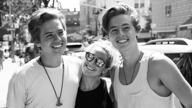 """""""Hotel Zack & Cody"""": Cole und Dylan Sprouse und Ashley Tisdale"""