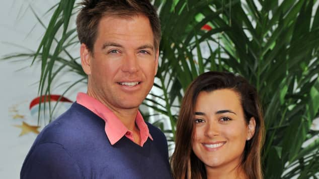 Cote de Pablo and Micheal Weatherly