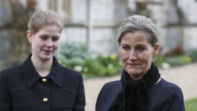 Gräfin Sophie und Lady Louise Windsor