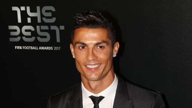 "Cristiano Ronaldo, ""The Best FIFA Football Awards"", ""Real Madrid, 2017"