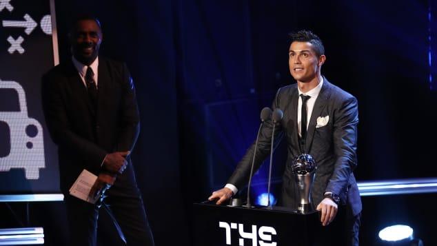 Cristiano Ronaldo FIFA Weltfußballer 2017
