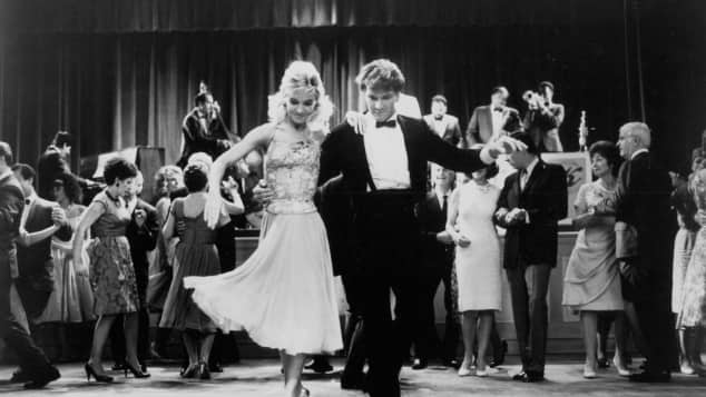 "Cynthia Rhodes and Patrick Swayze in ""Dirty Dancing"""
