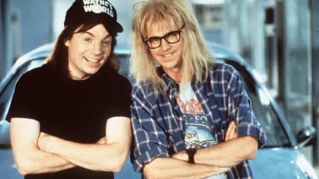 "Dana Carvey und Mike Myers in ""Wayne's World"""