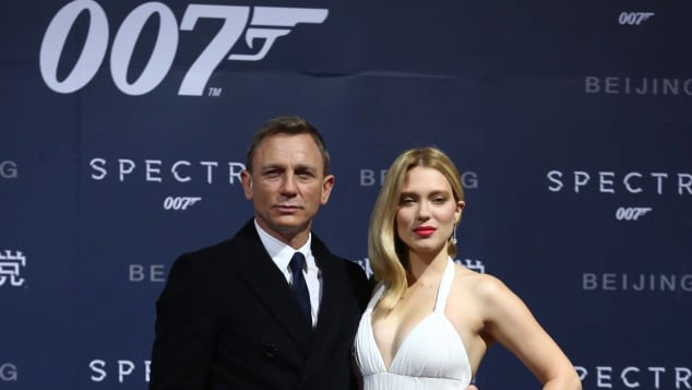 "Daniel Craig und Lea Seydoux feiern den neuen ""James Bond""-Film"