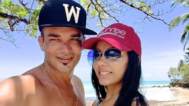 Daniel Lopes und seine Freundin Magna