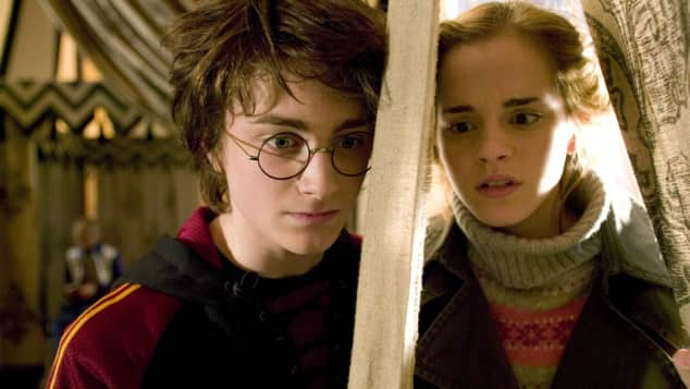 """Daniel Radcliffe und Emma Watson in """"Harry Potter und der Feuerkelch"""""""