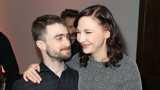 ind Daniel Radcliffe und Erin Darke