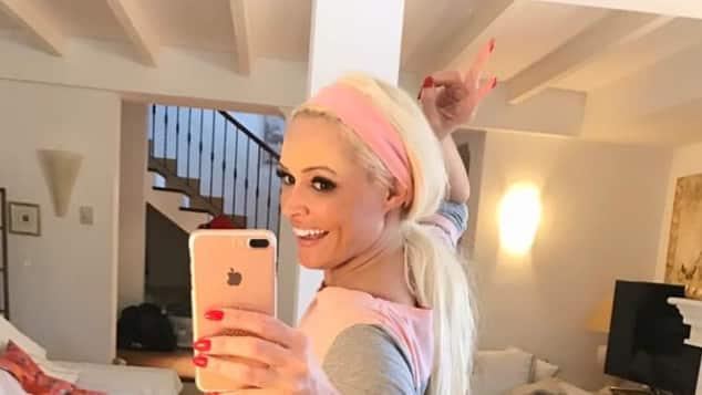 TV-Blondine Daniela Katzenberger zeigt ihren sexy Po