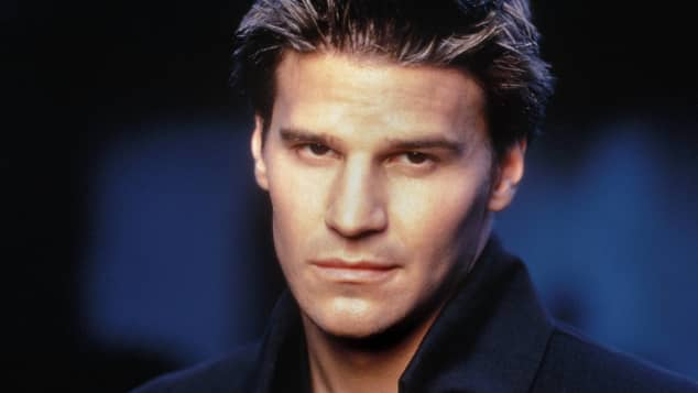 "David Boreanaz in ""Buffy"""