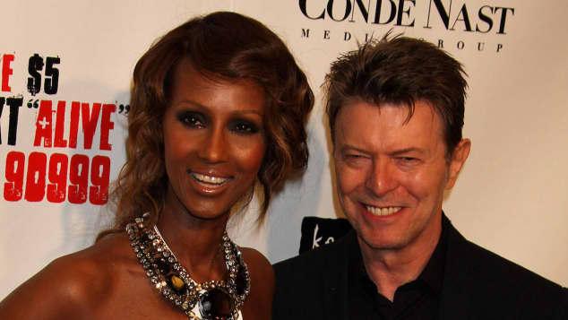 David Bowie und Iman: Sie waren ein absolutes Traumpaar