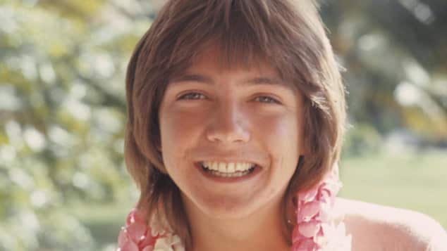 Teenie-Idol David Cassidy im Jahr 1970