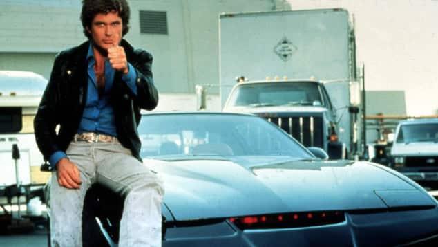 "David Hasselhoff wurde durch ""Knight Rider"" berühmt"