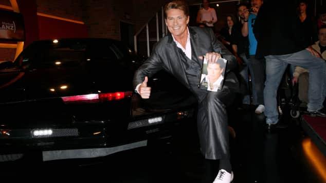 David Hasselhoff hängt immer noch an seinem legendären Auto