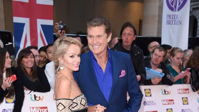 David Hasselhoff und Hayley Roberts haben sich verlobt