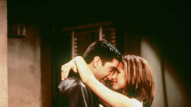 "David Schwimmer und Jennifer Aniston in ""Friends"""