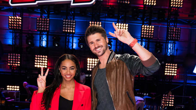 "Debbie Schippers and Thore Schoelermann, ""The Voice Kids"""